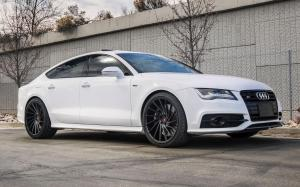 Audi S7 Sportback on Vossen Wheels (VPS-305T) 2017 года